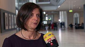 """Göring-Eckardt nach Bundestagsdebatte: """"Das finde ich einen Granatenfehler"""""""