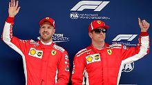 F1-Schicksalsrennen in Singapur: Crasht Räikkönen Vettels WM-Träume?