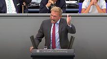"""""""Ich finde das empörend!"""": Hofreiter treibt Lindner im Bundestag zur Weißglut"""