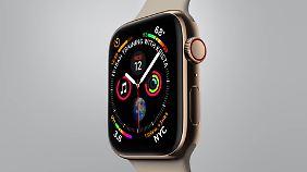 So sieht die neue Apple Watch 4 aus.