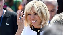 Première Dame in Umkleidekabine: Madame Macron tritt in Comedy-Serie auf