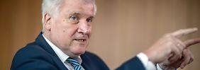 Staatsgegner im Bundestag: Seehofer: AfD ist übermütig geworden