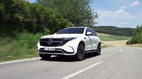 """Star-Support: """"Ich brauch so'n Ding"""": Mercedes zeigt vollelektrische Weltneuheit EQC"""