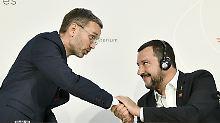 Salvini und Kickl mit Eklats: Die Stunde der Lautsprecher in Wien