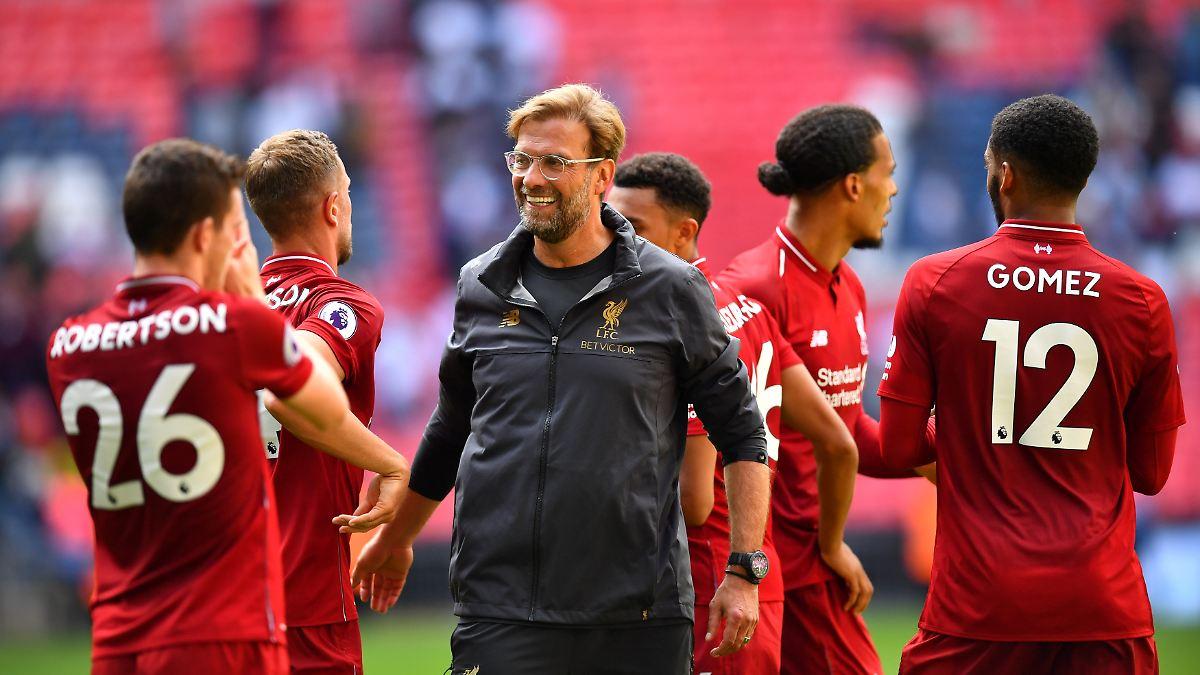 Liverpool Gegen Tottenham