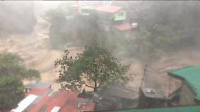 """Taifun """"Mangkhut"""" nimmt Kurs auf China: Böen bis 260 km/h verwüsten Philippinen"""