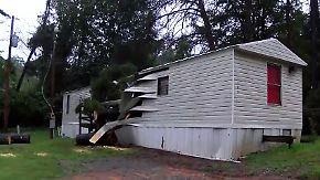 """Hurrikan """"Florence"""" flutet Südosten der USA: Umstürzender Baum erschlägt Baby in North Carolina"""