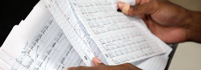 """Notenblätter braucht """"Amadeus Code"""" zum Komponieren sicher nicht."""