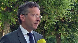 """Ex-Eurogruppenchef Dijsselbloem: """"Blut, Schweiß und Tränen: Der Euro wird bleiben"""""""