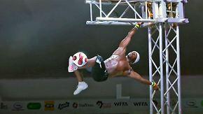 Bälle, Highheels, Muskeln, Kunst: Afrika krönt den König der Freestyler
