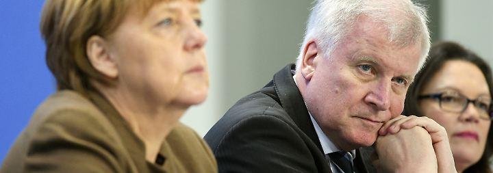 Angela Merkel, Horst Seehofer und Andrea Nahles (v.l.n.r.) werden wohl noch einmal verhandeln.