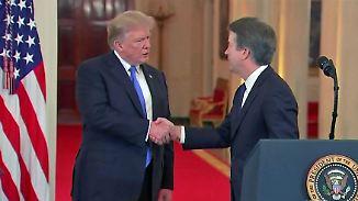 Vorwurf der versuchten Vergewaltigung: Trump nimmt Richter-Kandidat in Schutz