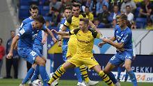 Freiburg, FCN und Bremen siegen: BVB duselt in Hoffenheim, Hertha spektakelt