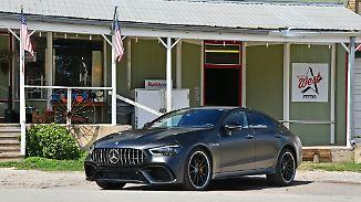 Der Mercedes-AMG GT als 4-Türer in seiner familienfreundlichsten und potentesten Ausführung als 63 S.