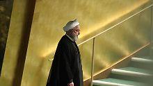 """""""Schwäche des Intellekts"""": Ruhani wettert bei UN-Rede gegen Trump"""