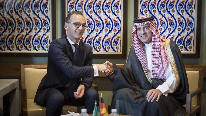 Bundesaußenminister Heiko Maas traf in New York auf seinen Amtskollegen Adel bin Ahmed Al Jubeir.
