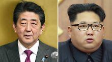 Gipfeltreffen mit Abe und Kim: Japan ist bereit für Gespräche mit Nordkorea