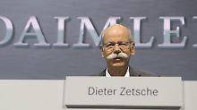 Schwede übernimmt in Stuttgart: Daimler-Chef Zetsche hört auf