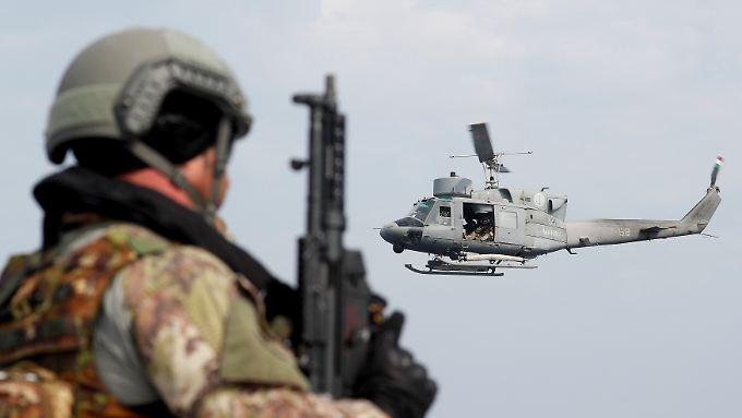 Das größte, öffentlich sichtbare Militärmanöver seit 2015: Geübt werden soll das gemeinsame Vorgehen für den Fall eines fiktiven Angriffs auf ein Nato-Mitglied.