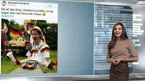 n-tv Netzreporterin: #EM2024 in Deutschland lässt User spotten und sticheln