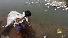 Jeder zehnte Mensch auf der Welt hat keinen Zugang zu sauberem Trinkwasser.