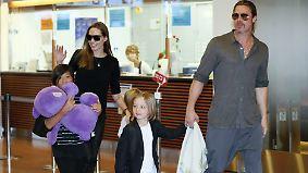 Promi-News des Tages: Tochter Shiloh flieht vor Brangelina