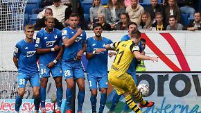 Fünf Fakten vor dem 6. Spieltag: Gladbach flucht auswärts, TSG am ruhenden Ball