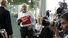 """""""Freiheit für Journalisten"""": Fotograf bei Erdogan-Auftritt abgeführt"""