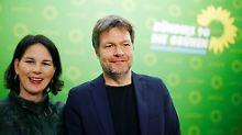 RTL/n-tv Trendbarometer: Grüne lösen SPD als zweitstärkste Partei ab