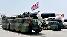 Fehlendes Vertrauen in die USA: Nordkorea stellt Forderung für Abrüstung