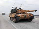 Reaktion auf Syrien-Einmarsch?: Rüstungsexporte in die Türkei brechen ein