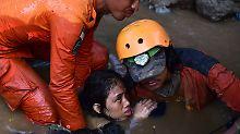 Rettern fehlt es am Nötigsten: Indonesien bittet um Katastrophenhilfe