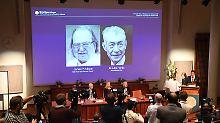 Nobelpreis für Krebstherapie: Forscher lassen Proteine von der Leine