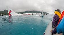 Bruchlandung in der Lagune: US-Taucher entdecken toten Passagier