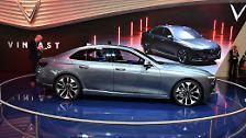 Das Design der beiden Fahrzeuge stammt zwar aus Italien, aber über die Entwürfe durften 62.000 Vietnamesen in einer Online-Umfrage abstimmen.