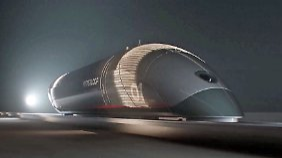 Fast so schnell wie Schall - und kostenlos?: Hyperloop TT enthüllt erste Personenkapsel der Welt