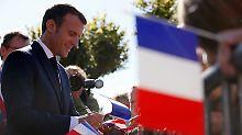 """""""Jeder muss sich anstrengen"""": Macron verscherzt es sich mit Rentnern"""