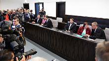 Das Gericht bleibt unter den Forderungen der Anklage.