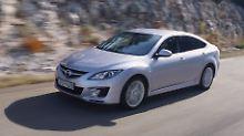 Der Mazda6 kann als Gebrauchter auch beim TÜV überzeugen.