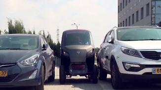 Stadtflitzer mit Parkplatzgarantie: Israelisches Unternehmen baut faltbares Elektroauto