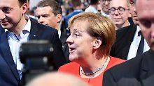 Deutschlandtag der Jungen Union: Die Welt verändert sich, Merkel bleibt Merkel