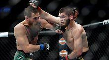 McGregor unterliegt Nurmagomedow: UFC-Titelkampf endet in Massenschlägerei