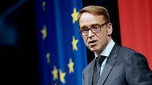 Bundesbank-Chef Jens Weidmann sagt US-Präsident Donald Trump ein noch höheres Handelsdefizit als bisher voraus.