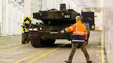 Leopard 2 für Nato-Großmanöver: Bundeswehr schickt Panzer nach Norwegen