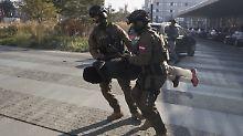 Gemeinsame Übung in Den Haag: Anti-Terror-Einheiten proben den Ernstfall