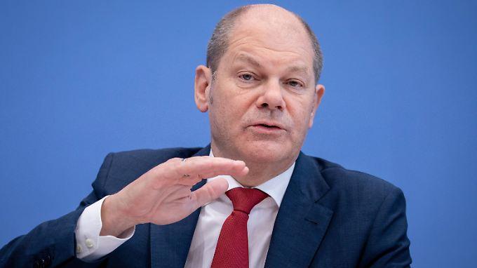 Finanzminister Scholz appelliert an Italien, verantwortlich zu handeln.