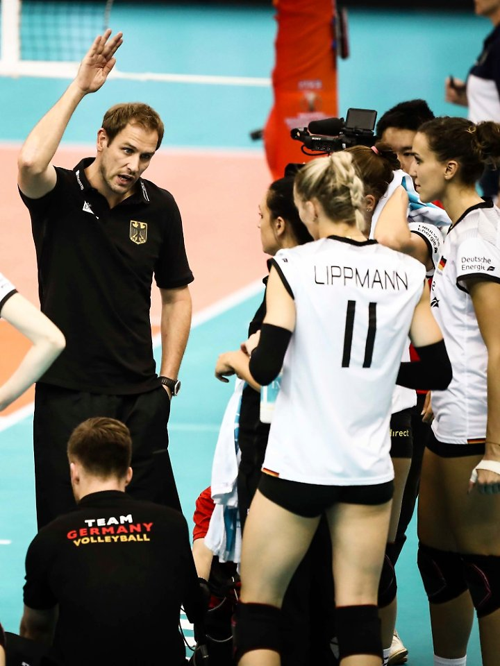 Trainer Felix Koslowski will die Deutschen in die Weltspitze führen.