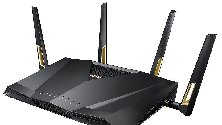 Der Asus-Router RT-AX88U beherrscht schon Wi-Fi 6.
