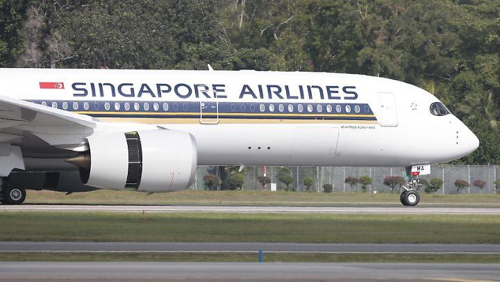 Ein Airbus 350 kann 161 Passagiere befördern.