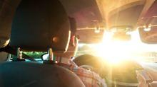 Ampel nicht zu erkennen?: Wenn die Sonne Autofahrer blendet